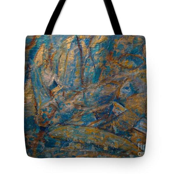 Twilight Sails Tote Bag