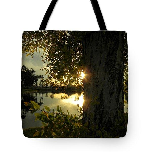 Tote Bag featuring the photograph Twilight Splendor by Deb Halloran