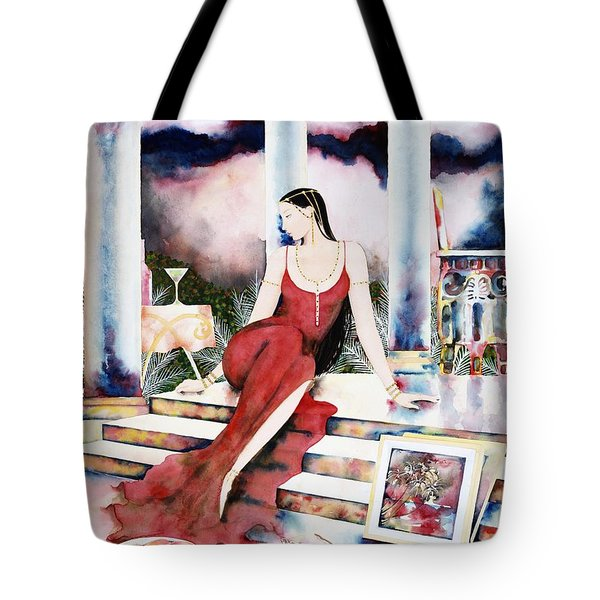 Twilight Surroundings Tote Bag