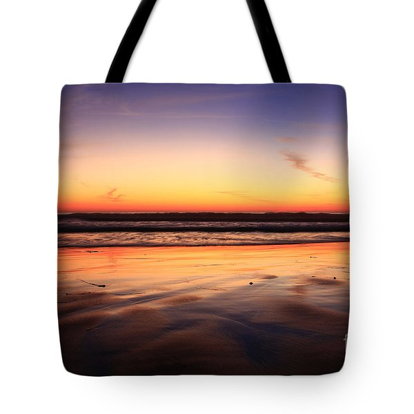 Cardiff By The Sea Glow Tote Bag
