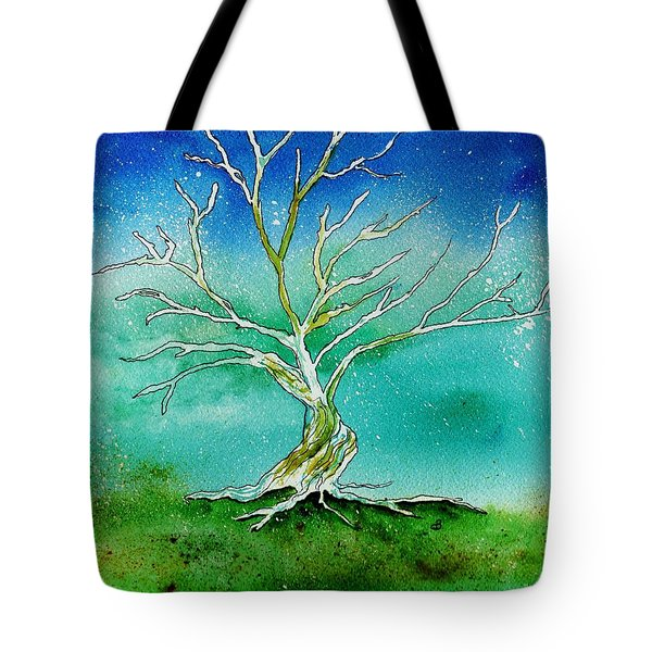 Twilight Tree Tote Bag