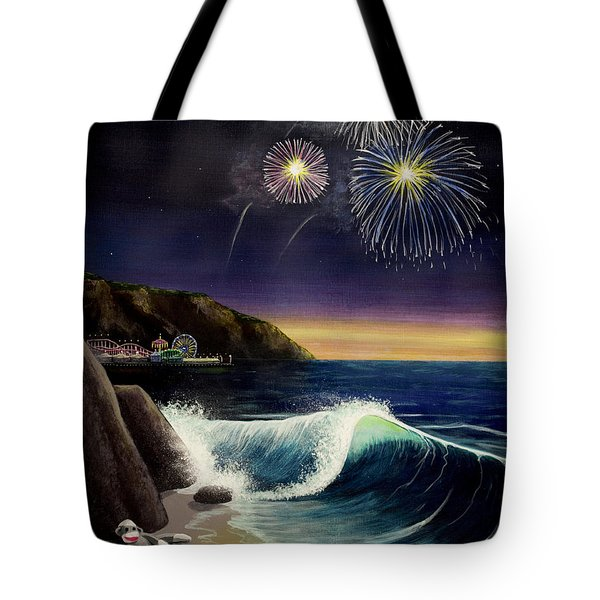 Twilight's Last Gleaming Tote Bag by Jack Malloch