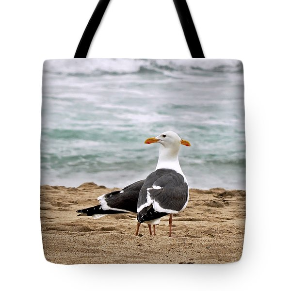 Twin Beaks Tote Bag by Susan Wiedmann