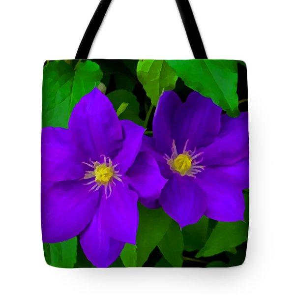 Twin Beauties Tote Bag