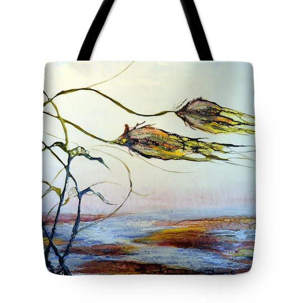 Twin Breezes Tote Bag