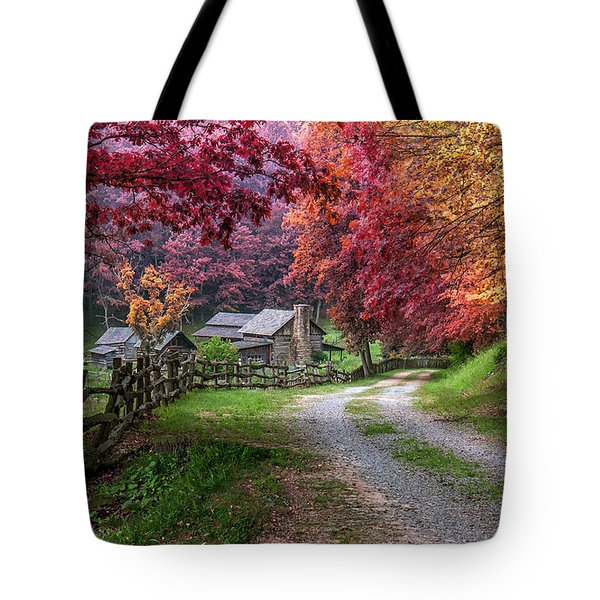 Twin Falls State Park Tote Bag