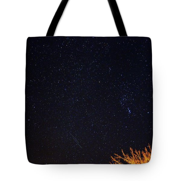 Twin Streams Tote Bag by Bonfire Photography