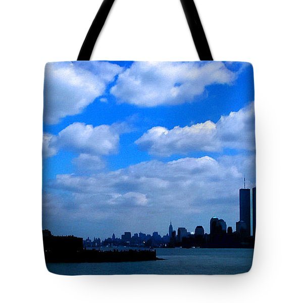 Twin Towers In Heaven's Sky - Remembering 9/11 Tote Bag