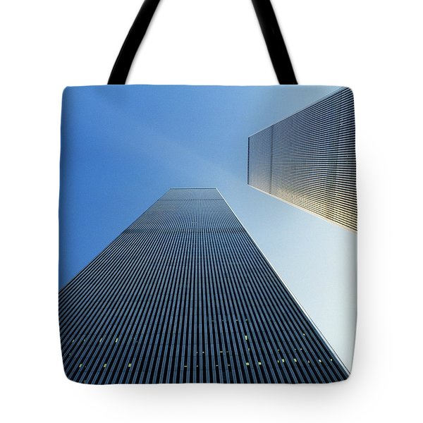 Twin Towers Tote Bag by Jon Neidert