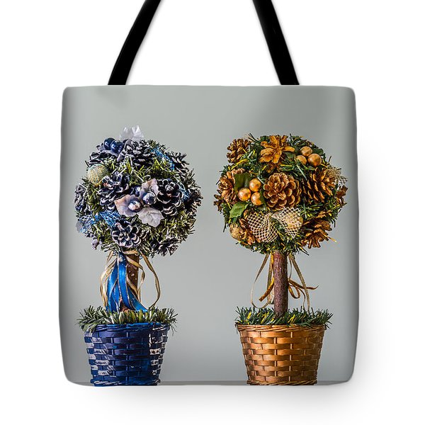 Twin Trees Tote Bag