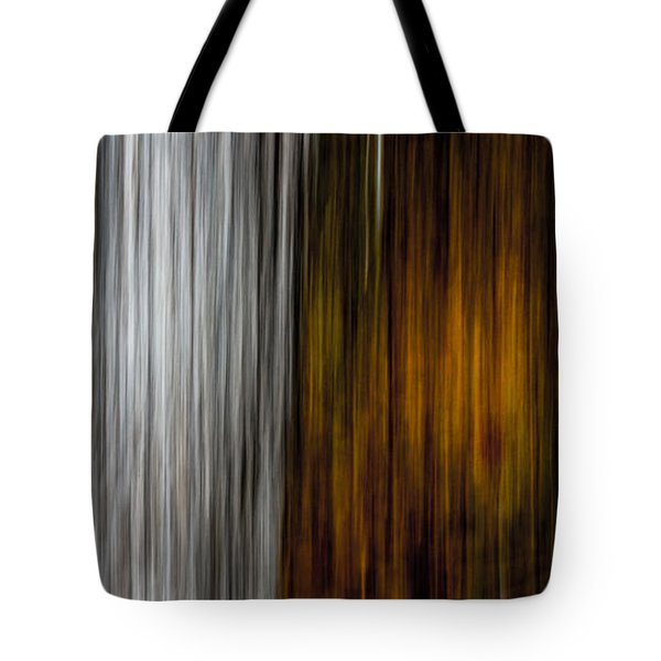 Twin Trunks Tote Bag by Darryl Dalton