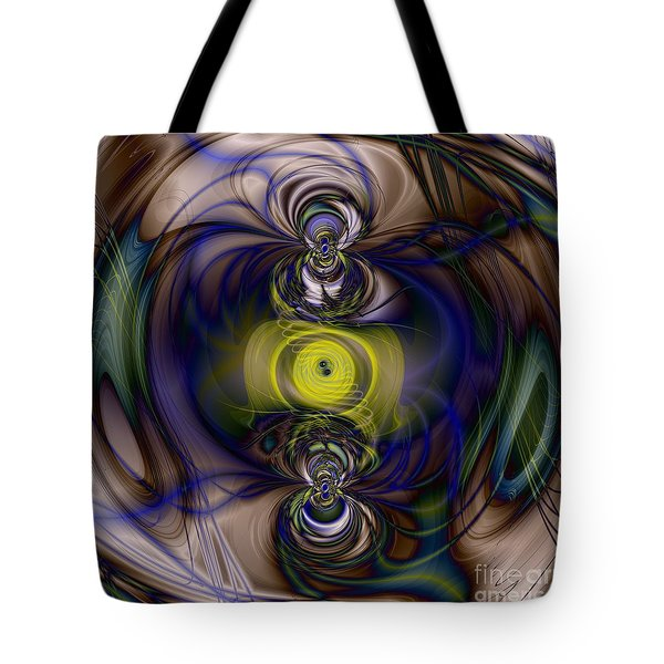 Twine Of Light Tote Bag by Elizabeth McTaggart