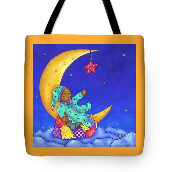 Twinkle Little Star Tote Bag by Tracy Campbell