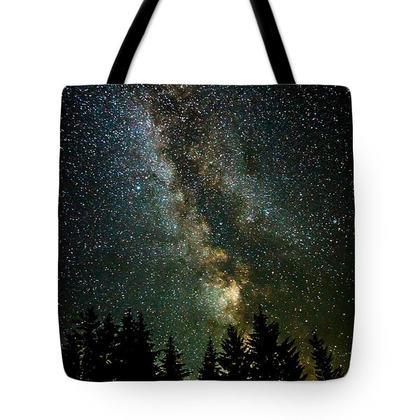 Twinkle Twinkle A Million Stars  Tote Bag by Wes and Dotty Weber