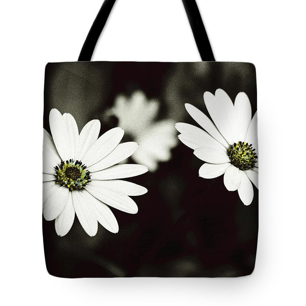 Tote Bag featuring the photograph Twins  by Lana Enderle