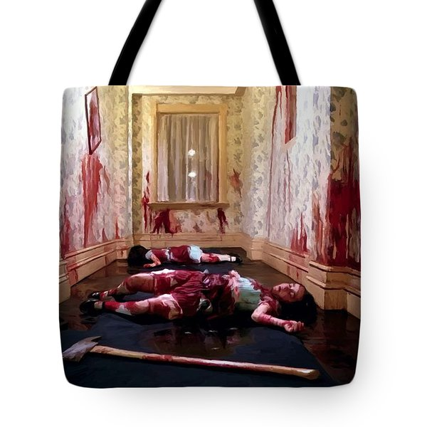Twins Murdered @ The Shining Tote Bag