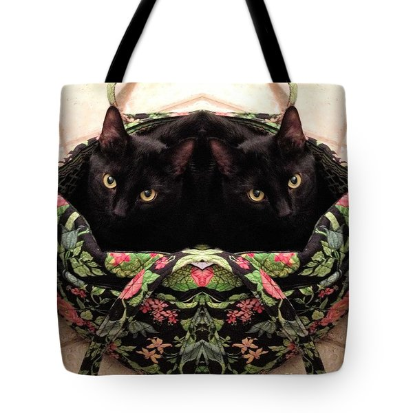 Tote Bag featuring the photograph Twins by Luther Fine Art
