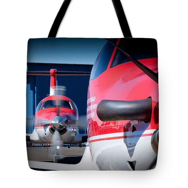 Twins Tote Bag by Paul Job