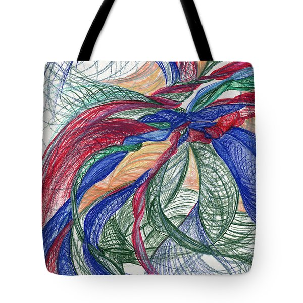Twirls And Cloth Tote Bag