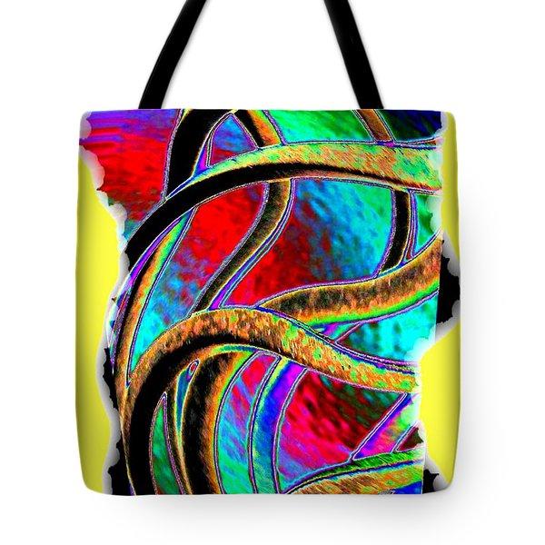 Twist And Shout 3 Tote Bag by Will Borden