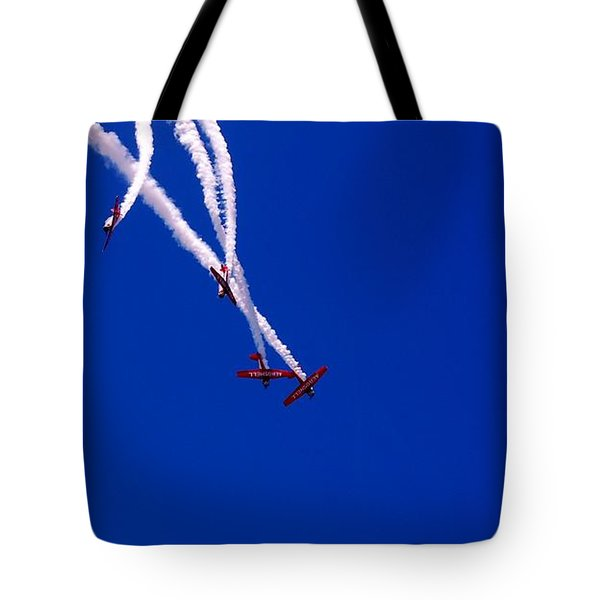 Twist And Turns Tote Bag