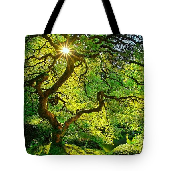 Twist Of Life Tote Bag
