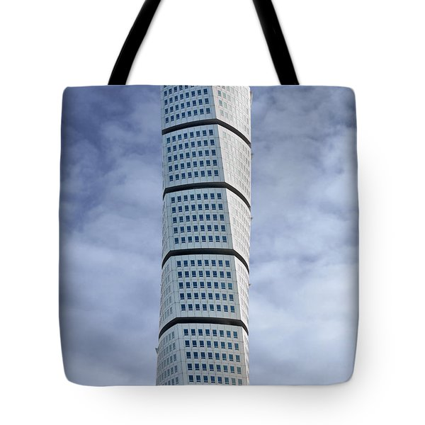 Twisted Architecture Tote Bag