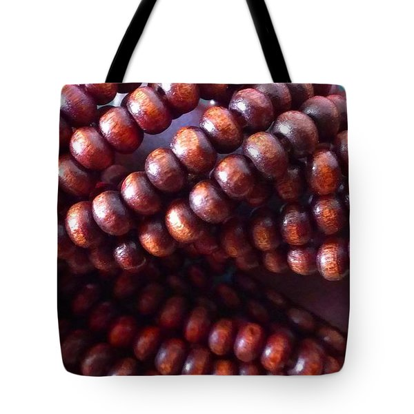Twisted Beads Tote Bag by Catherine Ratliff