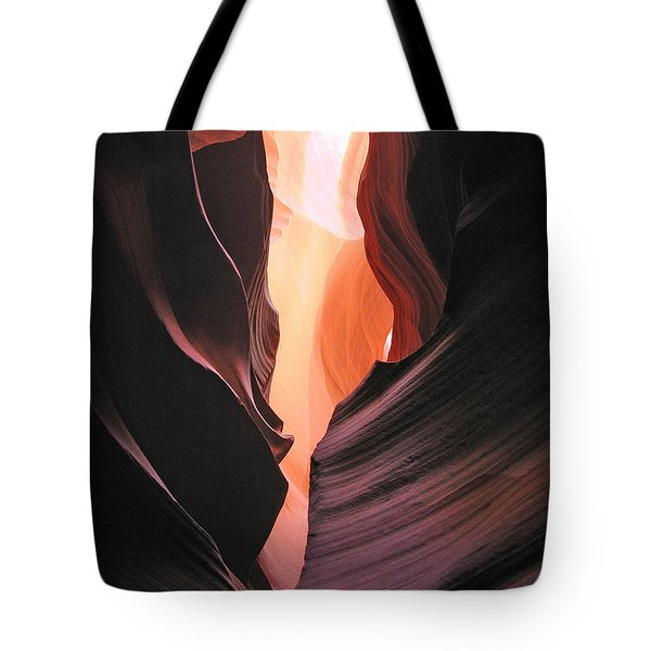 Twisted Canyon Tote Bag by Marcia Socolik