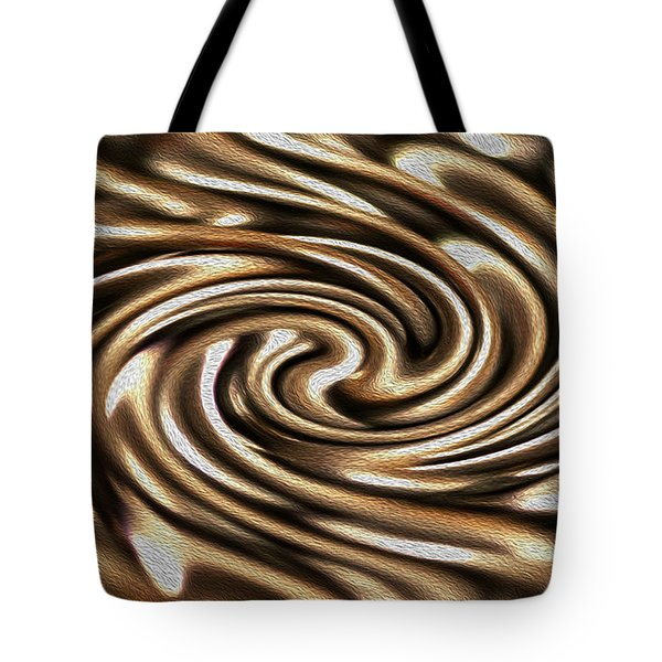 Twisted Chains Tote Bag