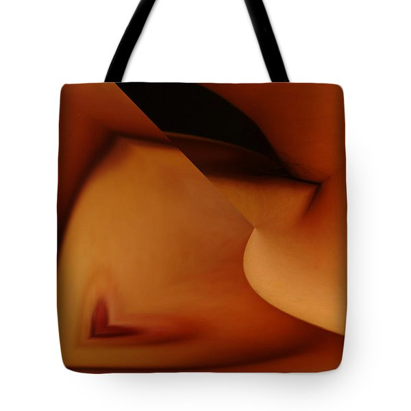 Twisted Heart Tote Bag