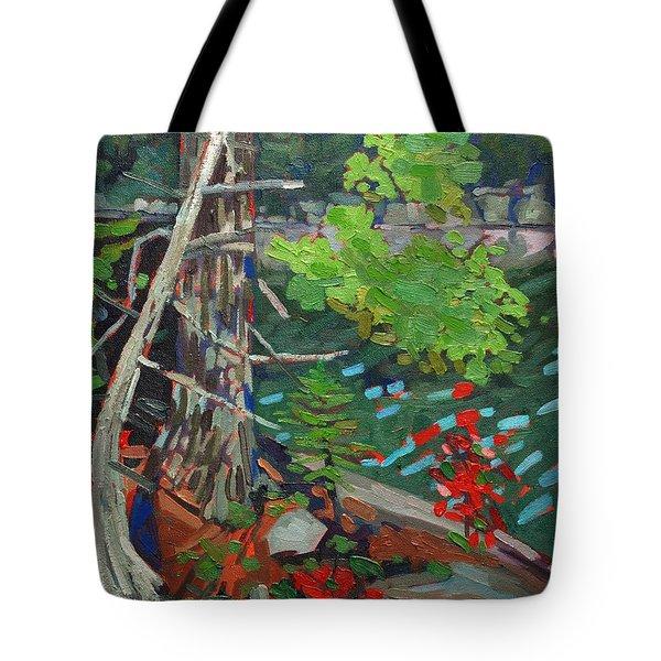 Twisted Island Tote Bag