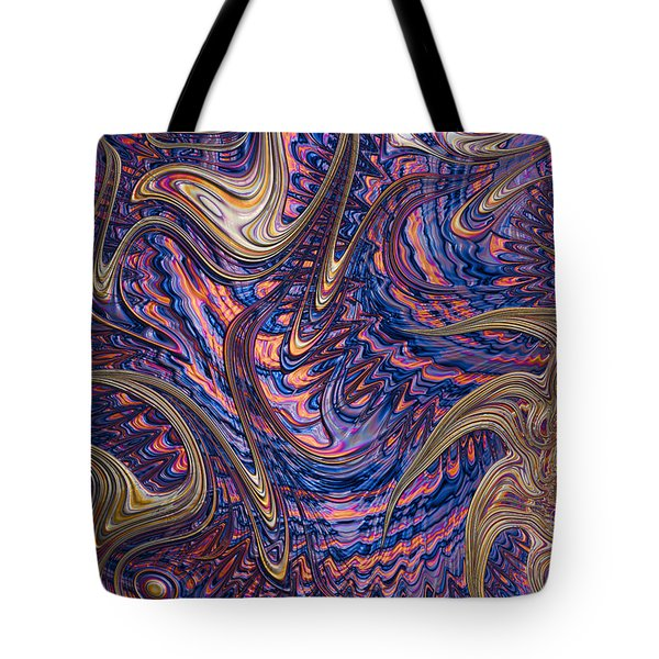 Twisted Tote Bag by John Edwards