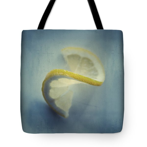 Twisted Lemon Tote Bag by Ari Salmela