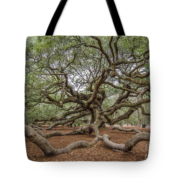 Twisted Limbs Tote Bag