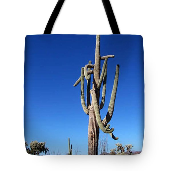 Twisted Sentinal Tote Bag by Kathy McClure