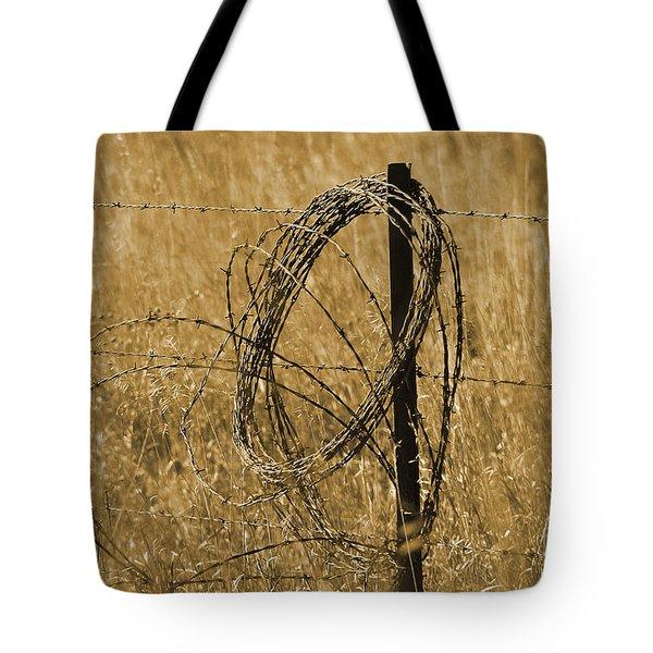 Twisted - Sepia Tote Bag
