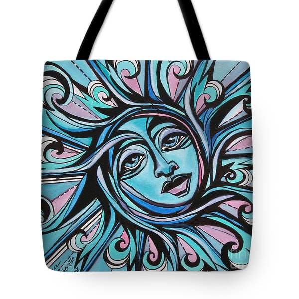 Twisted - Sun  Tote Bag