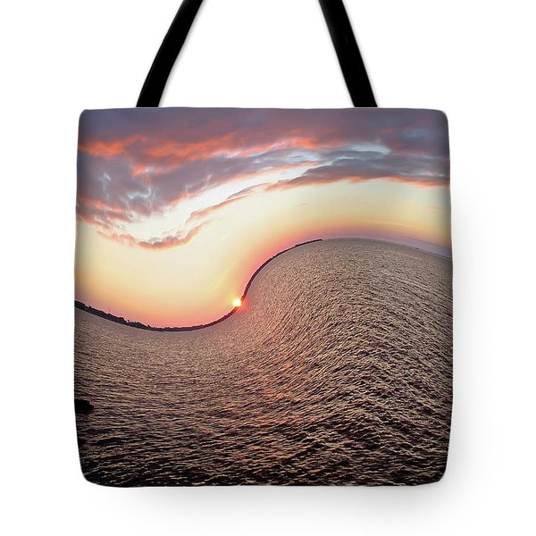 Twisted Sunset Tote Bag by Aimee L Maher Photography and Art Visit ALMGallerydotcom