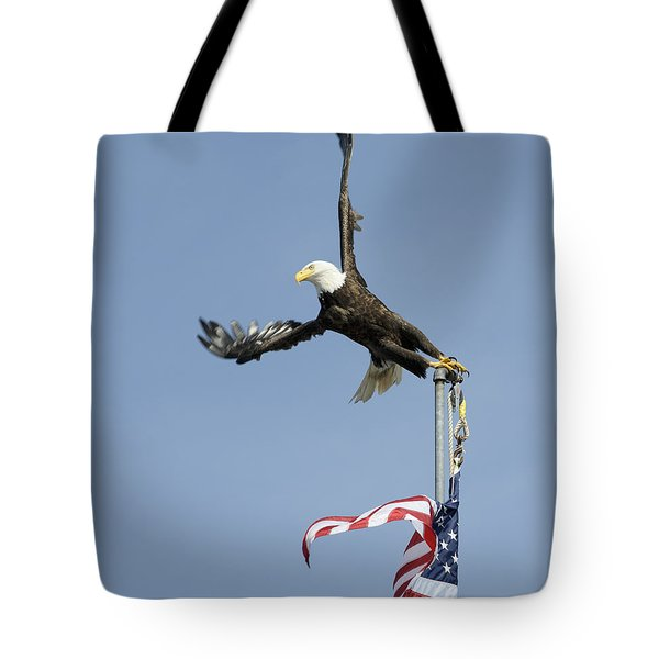 Twisted Take-off Tote Bag