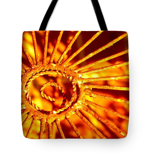 Twisted Trust Tote Bag by Cathy Dee Janes