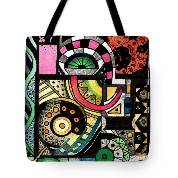 Twisting And Turning Tote Bag