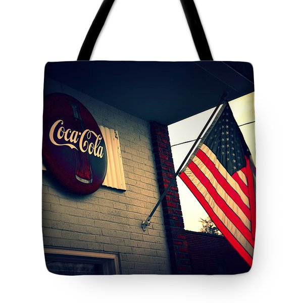 Tote Bag featuring the photograph Two American Favorites by Lisa Wooten
