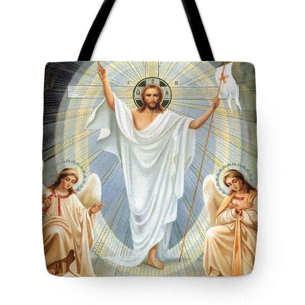 Two Angels Tote Bag