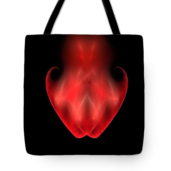 Two Become One Tote Bag by Bruce Nutting