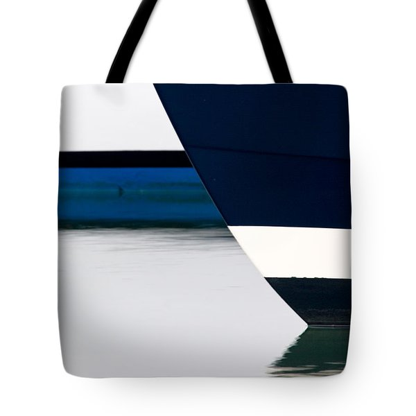 Two Boats Moored Tote Bag by CJ Middendorf