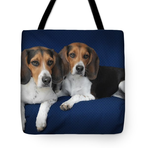 Two Brothers Tote Bag by Christine Till