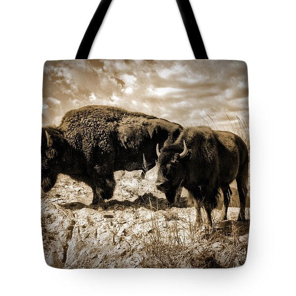 Two Buffalo Tote Bag