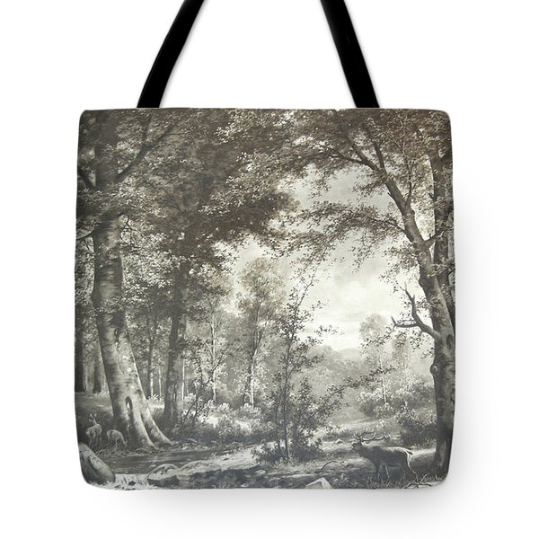Two Centuries Ago Tote Bag by Sherlyn Morefield Gregg