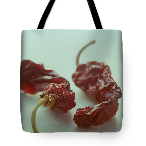 Two Dried Peppers Tote Bag